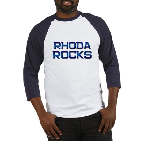rhoda rocks Baseball Jersey