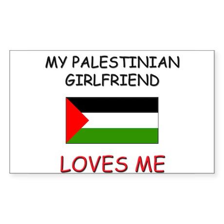 My Palestinian Girlfriend Loves Me Sticker (Rectan