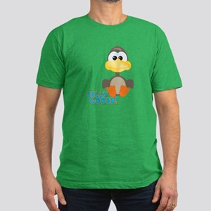 Goofkins Silly Silly Goose Men's Fitted T-Shirt (d