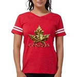 Gold Canada Maple Leaf T-Shirt