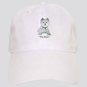 """The Boss"" Westhighland White Terrier Cap"