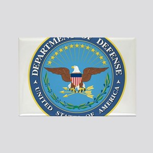 Dept. of Defense Rectangle Magnet