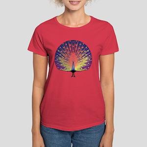 Peacock Women's Dark T-Shirt