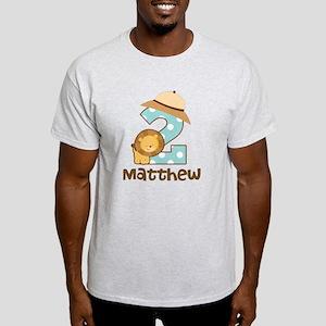 Personalized 2nd Birthday Safari Jungle T-Shirt