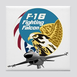F-16 Fighting Falcon Tile Coaster
