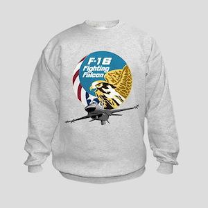 F-16 Fighting Falcon Kids Sweatshirt