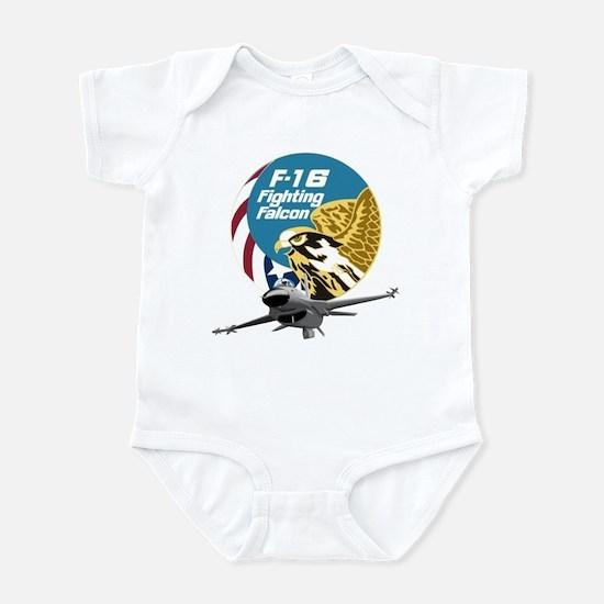F-16 Fighting Falcon Infant Bodysuit