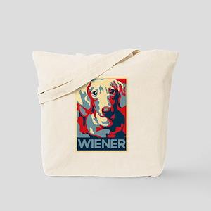 Vote Wiener! Tote Bag