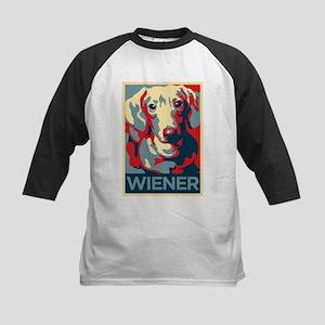 Vote Wiener! Kids Baseball Jersey