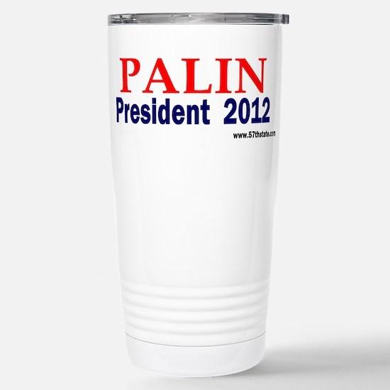 Palin 2012 Stainless Steel Travel Mug