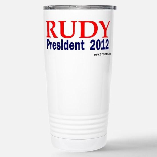 Rudy 2012 Stainless Steel Travel Mug