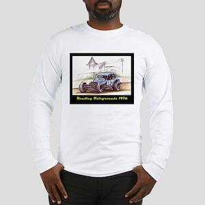 Reading Fairgrounds 1976 17 Jr Long Sleeve T-Shirt
