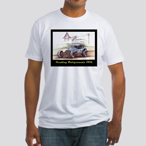 Reading Fairgrounds 1976 17 Jr Fitted T-Shirt