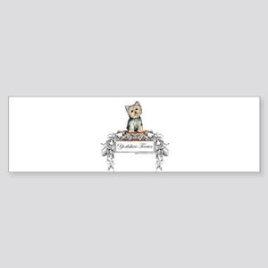 Yorkshire Terrier Small Dog Bumper Sticker