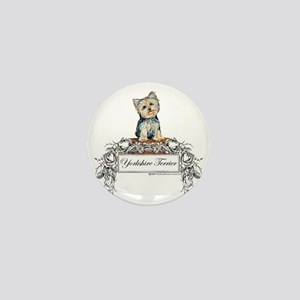 Yorkshire Terrier Small Dog Mini Button