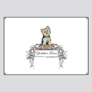 Yorkshire Terrier Small Dog Banner