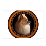 Pomeranian Dog Postcards (Package of 8)