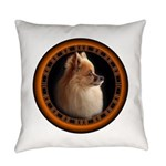Pomeranian Dog Everyday Pillow