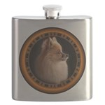 Pomeranian Dog Flask
