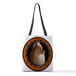 Pomeranian Dog Polyester Tote Bag