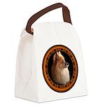 Pomeranian Dog Canvas Lunch Bag