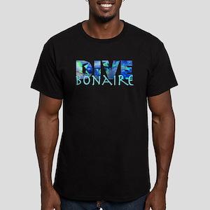 Dive Bonaire Men's Fitted T-Shirt (dark)