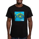 idive reef fish Men's Fitted T-Shirt (dark)