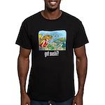 got sushi? Men's Fitted T-Shirt (dark)