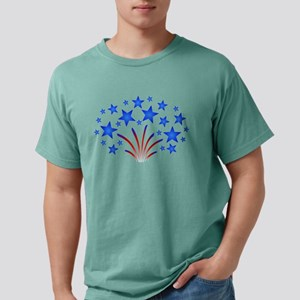 America Stars Stripes July 4th Fireworks Gifts T-S