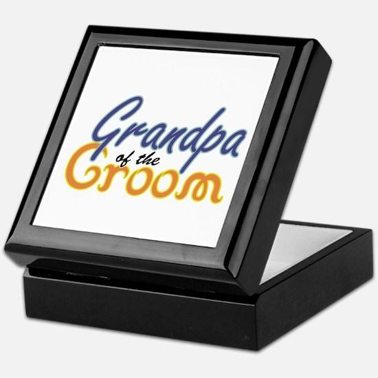 Grandpa of the Groom Keepsake Box