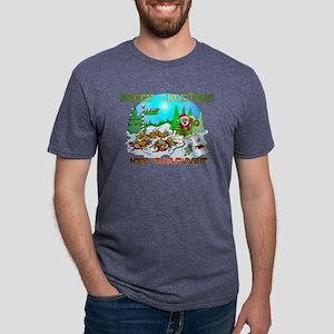 Zombie Christmas Killings Mens Tri-blend T-Shirt