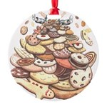Cookie Mountain Round Ornament