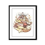 Cookie Mountain Framed Panel Print