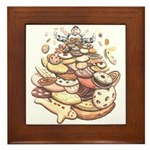 Cookie Mountain Framed Tile