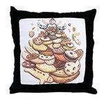 Cookie Mountain Throw Pillow