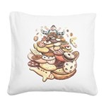 Cookie Mountain Square Canvas Pillow