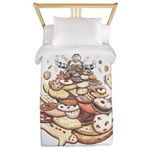 Cookie Mountain Twin Duvet Cover