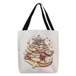 Cookie Mountain Polyester Tote Bag