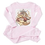 Cookie Mountain Toddler Pink Pajamas