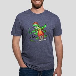 lizard Mens Tri-blend T-Shirt