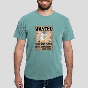 wanted_poster Mens Comfort Colors® Shirt