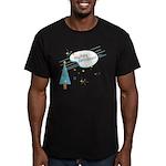 New Modern Retro Holidays Men's Fitted T-Shirt (da