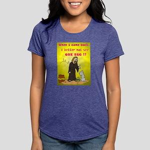 jesusnoegg Womens Tri-blend T-Shirt