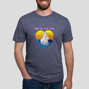 polar1 Mens Tri-blend T-Shirt
