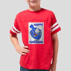 HAPPY HANUKKAH Youth Football Shirt