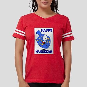 HAPPY HANUKKAH Womens Football Shirt