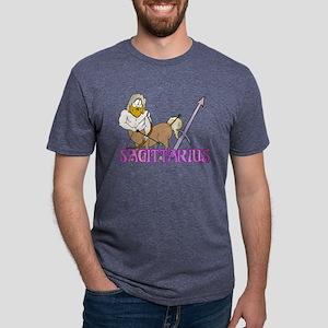 SAGITTARIUS Mens Tri-blend T-Shirt