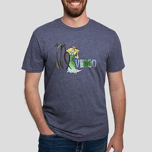 VIRGO Mens Tri-blend T-Shirt