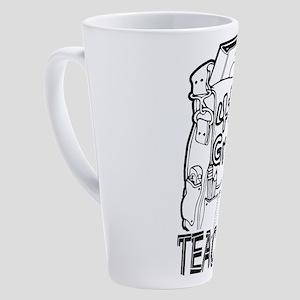 4th Grade Teacher 17 oz Latte Mug