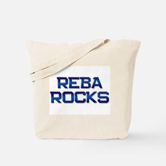 reba rocks Tote Bag